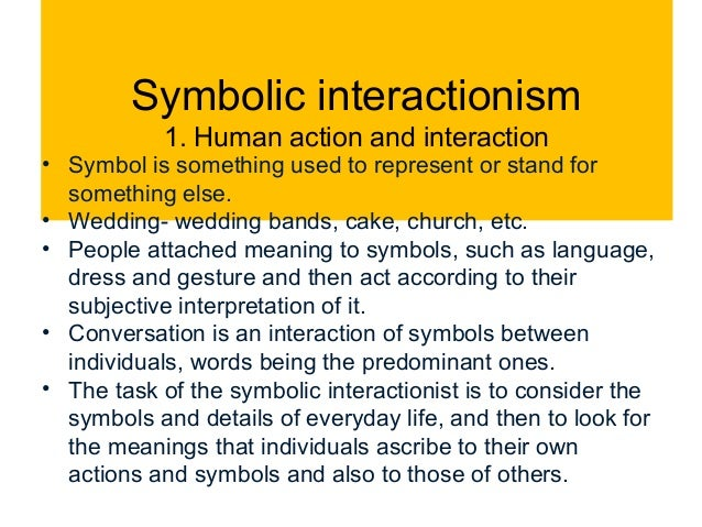 symbolic interactionism: theories and everyday life essay Applications of symbolic interactionism theory essay  marriage and symbolic interactionism essay  is remotely used to distinguish the study of human life and.