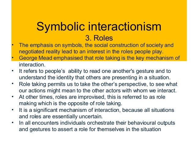 conflict functional and symbolic theories essay Check out our top free essays on functionalism conflict symbolic interaction to help you write your own essay.