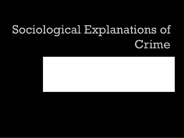 explanations of crime Criminology: criminology, scientific study of the nonlegal aspects of crime and delinquency, including its causes, correction, and prevention, from the viewpoints of such diverse disciplines as anthropology, biology, psychology and psychiatry, economics, sociology, and statistics.