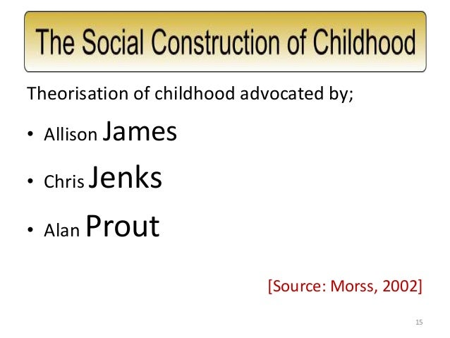 """childhood as a social construction essay Childhood 1 childhood 2 explain what is meant by """"childhood as a social construct"""" outline the historical and cross cultural differences in childhood evaluate the different sociological perspectives on childhood."""