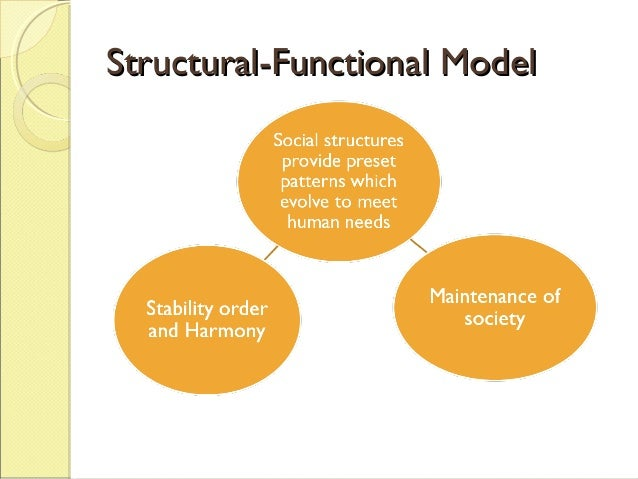 an analysis of structural functional perspective in the discipline of anthropology