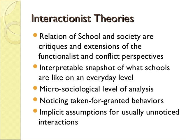 consensus theory on education