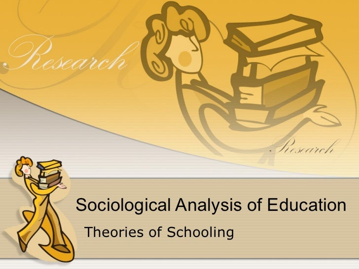sociological perspectives on education essays Three sociological perspectives essay if i am to use this perspective on my education, my education is a product of my past conflict which is the lower levels of education it is also my ongoing conflict as i am still striving to graduate there are also levels of analysis that we can use to view topics in the an example of analysis on.