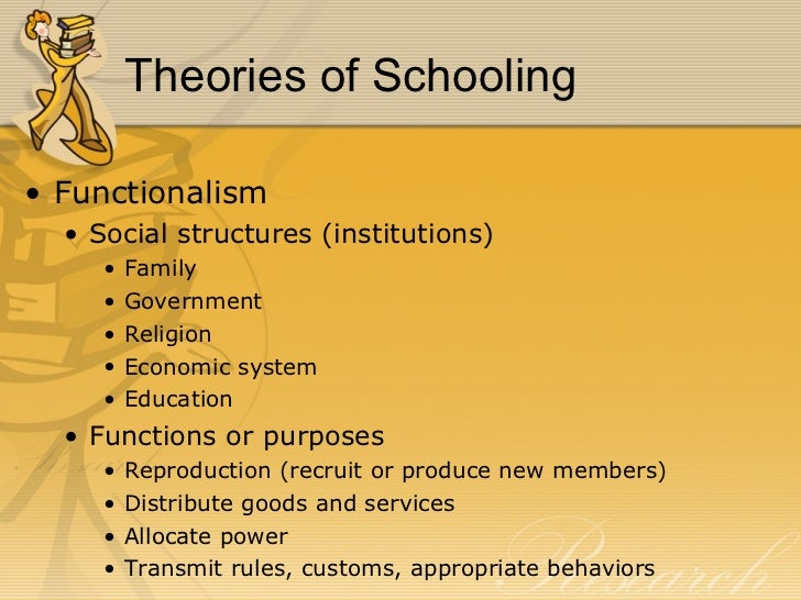 sociological theories and education Theories of learning and teaching what do they mean for educators suzanne m wilson is a professor of education and director of the center for the scholarship.