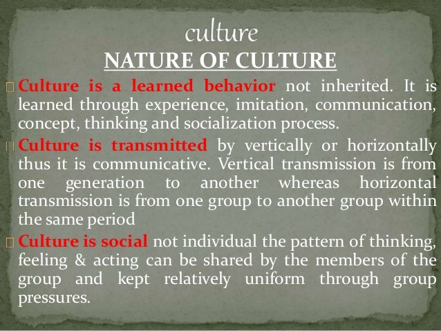 culture and transmission of culture socialization Values, religion, and culture in adolescent development - edited by gisela   studied from a socialization theoretical perspective focusing on transmission.