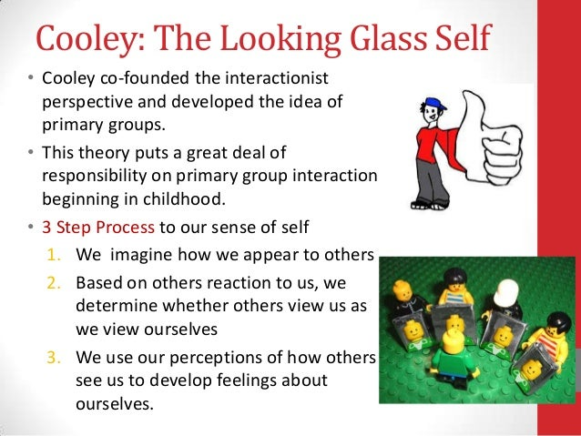social theory looking glass self Explain the various theories of the development of self these other persons comprise of our social looking glass through which we form the mead's theory.