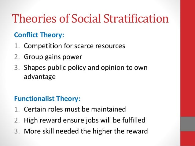 social stratification written reaction Sociological perspectives on gender stratification the functionalist perspective the functionalist perspective of gender roles suggests that gender roles exist to.