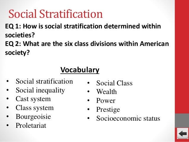 socialization and social stratification essay The socialization that we receive in childhood has a lasting effect on our ability to  interact with others in society in this lesson, we identify and discuss four of the.