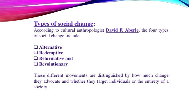 4 types of social movements