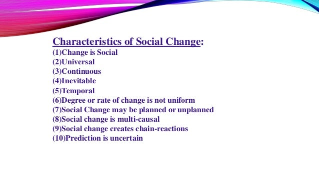 how to effect social change