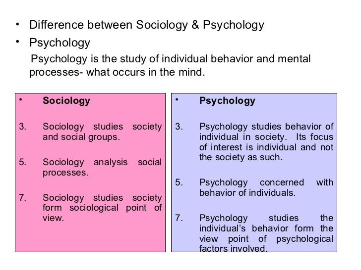 conclusion of sociology and other social sciences