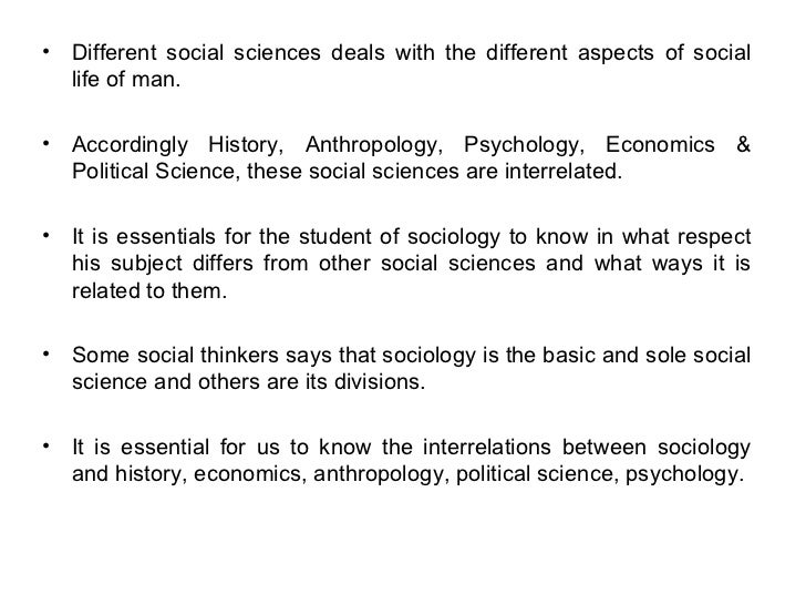 difference between political science and political sociology
