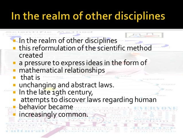 Statistics Mathematical Laws Natural Sciences
