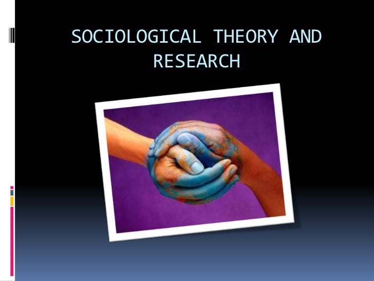 sociological approach to the study of Define industrial sociology as the study of the social relationships  see, for example, t parsons, suggestions for a sociological approach to the.