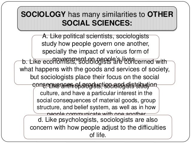 What Are The Similarities Between Natural And Social Sciences
