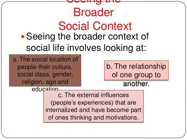 The Nature and Scope of Sociology Slide 3