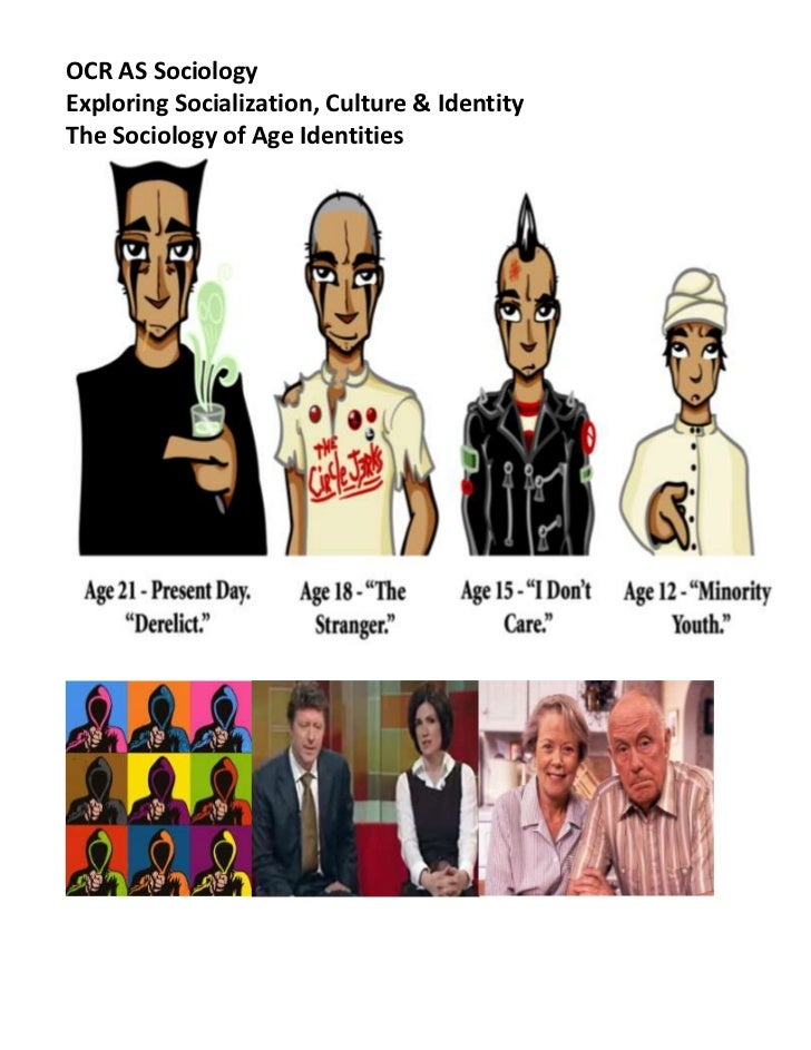OCR AS Sociology <br />Exploring Socialization, Culture & Identity<br />The Sociology of Age Identities <br /> <br />Intro...
