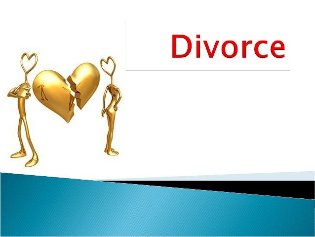 Define divorce and recognise trends in divorce.To evaluate the reasons why divorce rates have increased.Examine the con...