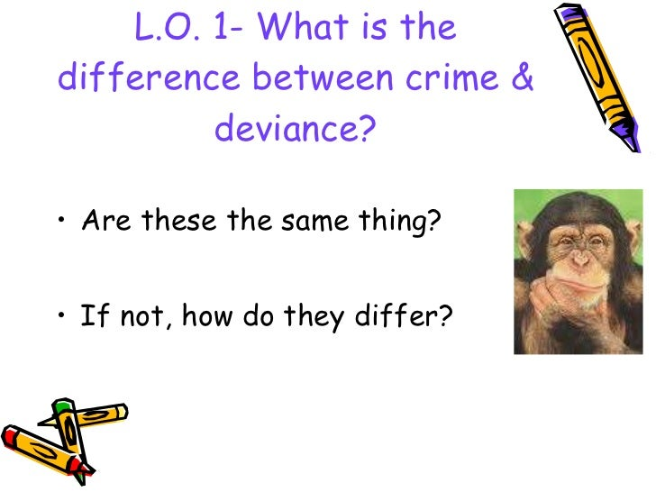 Deviance is relative. Evaluate this term