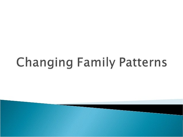  Know the main changes in partnerships including marriage, divorce, cohabitation and civil partnerships as well as one-pe...