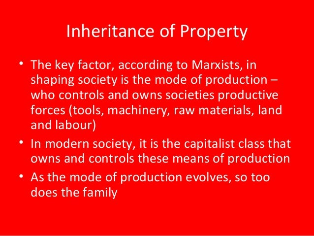 According To Marx Who Owns Private Property
