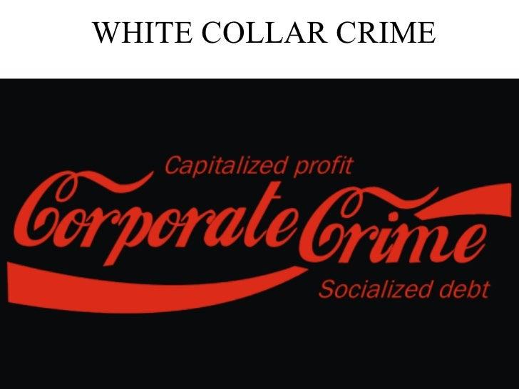 White Collar Crime Sociology Essay – 506318