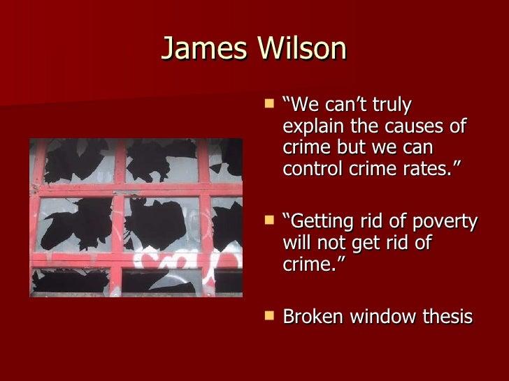 thesis broken windows theory