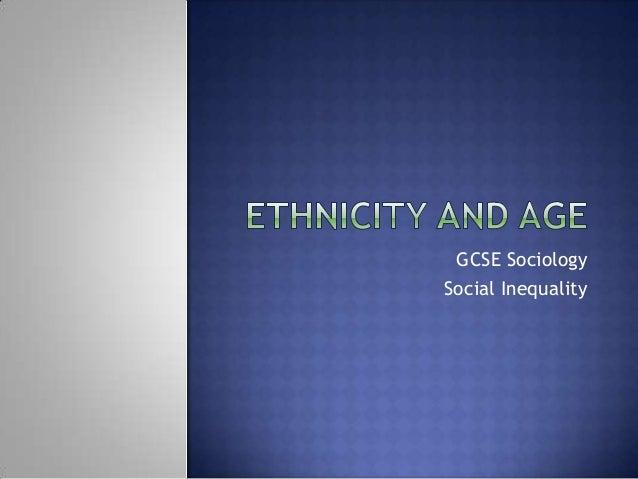 GCSE SociologySocial Inequality