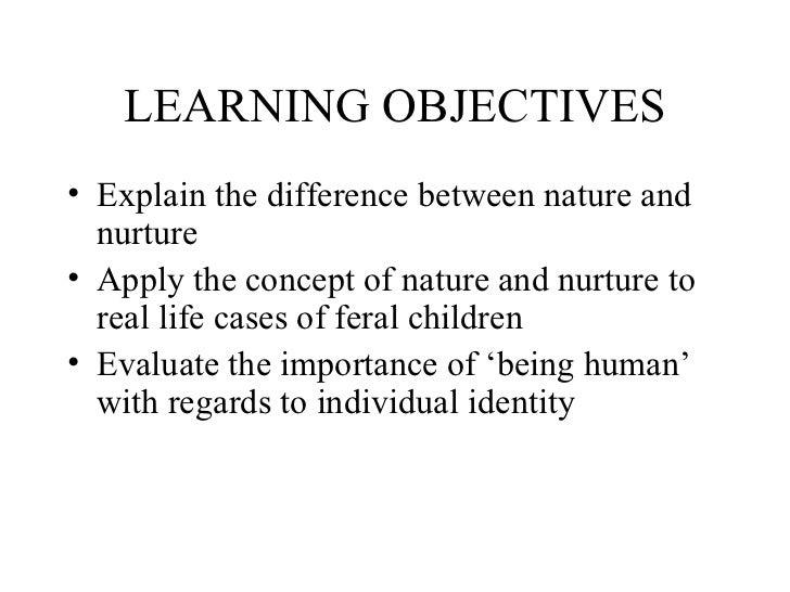 Nature vs nurture essay sociology