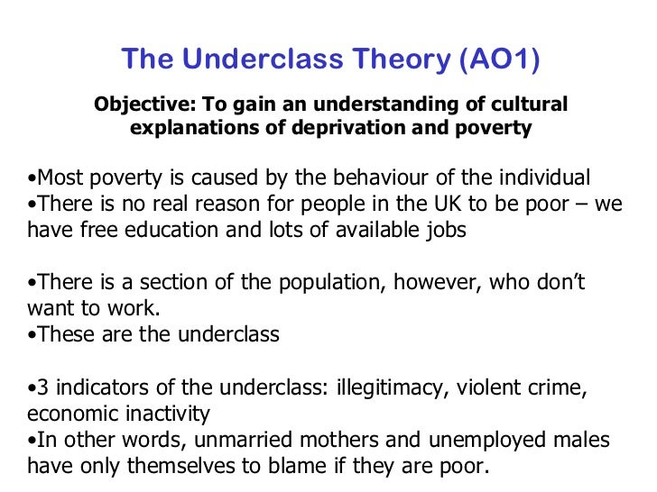 sociologyexchange co uk shared resource the underclass theory