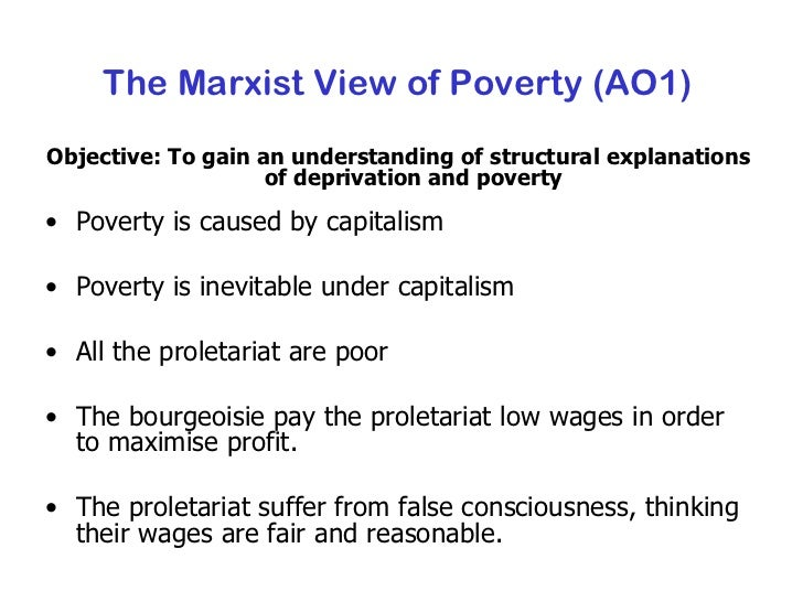 functionalist perspective on poverty