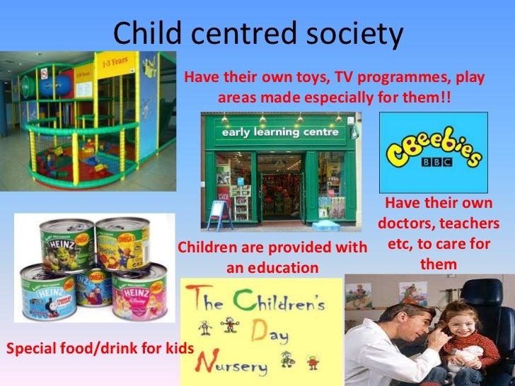 child centered society definition