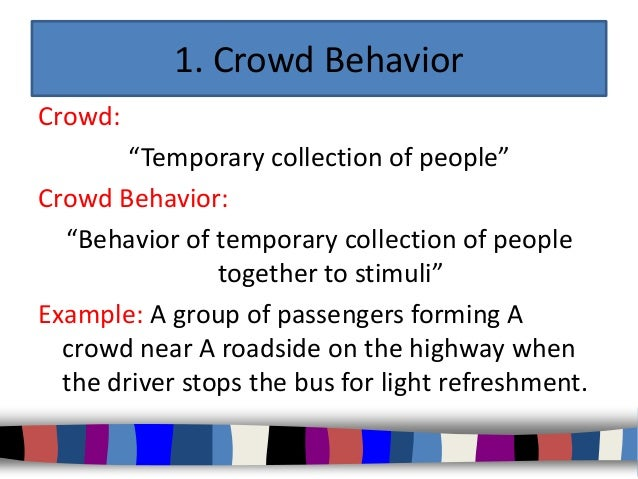 collective behavior Collective animal behavior is a form of social behavior involving the coordinated behavior of large groups of similar animals as well as emergent properties of these.