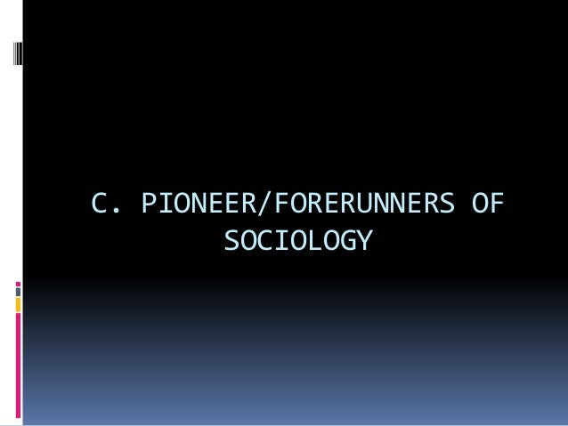 auguste comte theory on sociology