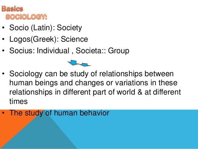 sociology concepts Figurational studies: some concepts, principles and major research areas  ' figurational sociology' or 'process sociology' are terms which became attached .