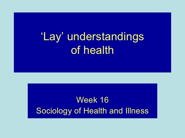 health care and sociological concepts Second, that social institutions, such as health-care bureaucracies, that are   fourth, we draw on the concept of biopower, a term coined by.
