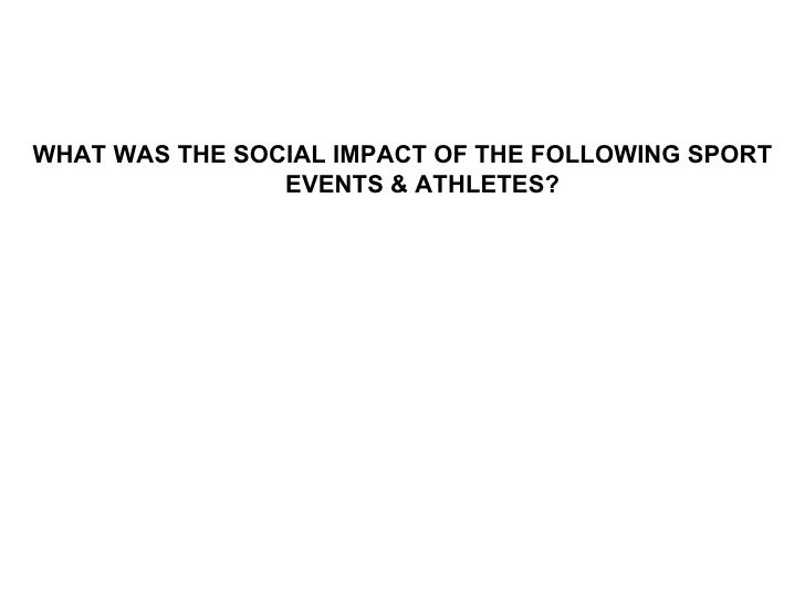 sociology of sport Learning objectives: - to define the field of sport sociology - to discuss the questions studied in this field - to describe how information from this field is used.