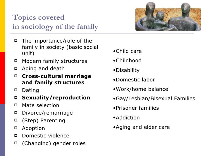 Gender Roles & Family Structure Changes