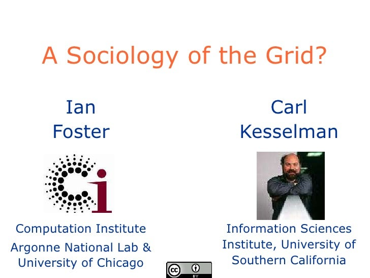 Sociology Of The Grid May 2009