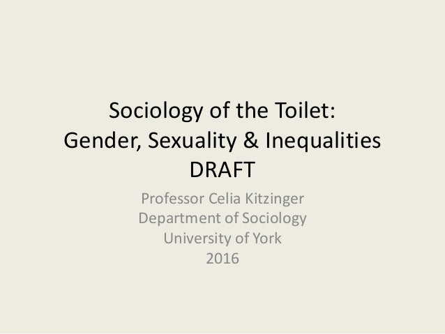 Gender and sexuality sociological approaches
