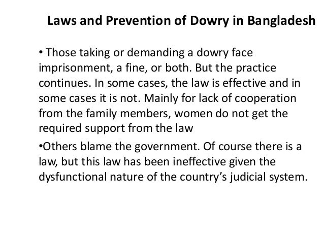 control to dowry system Did you know that the dowry system is a result of the socio economic changes   in which villagers had representatives with mechanisms of direct control.