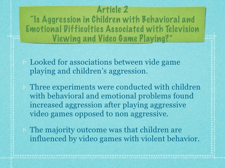 the effect of video games on children Learn about the good and bad effects of video games to kids from preschoolers   video games help children with dyslexia read faster and with better accuracy,.