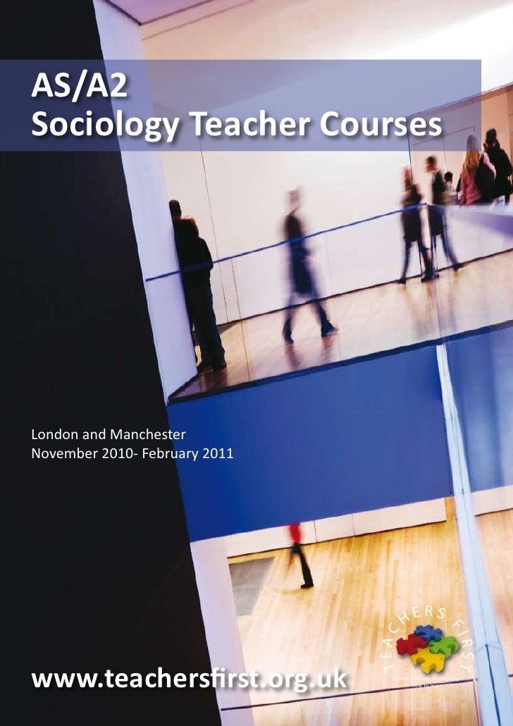Sociology teacher