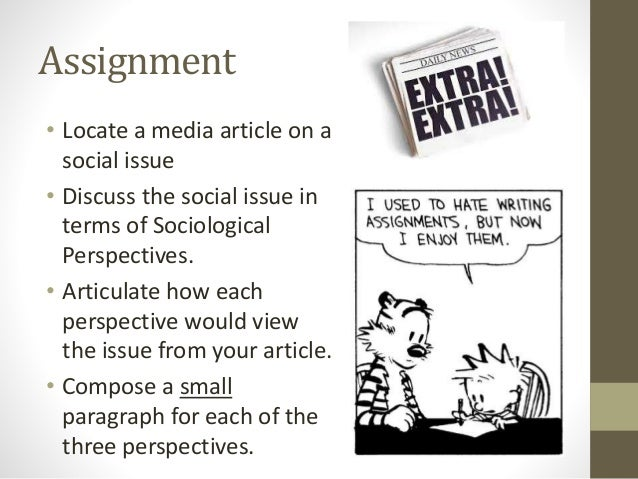 an analysis of the article of sociology Commentary and archival information about sociology from the new york times   news about sociology, including commentary and archival articles.