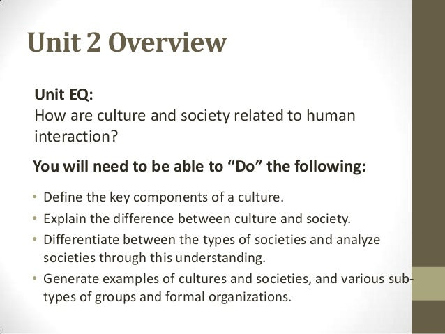 sociology unit 2 culture and society rh slideshare net guided reading strategies 7.4 roman society and culture answers guided reading activity 3-3 african society and culture answers