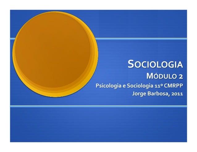 Microssociologia e Macrossociologia