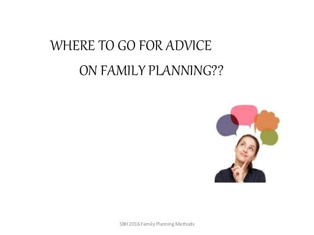 Best family planning options