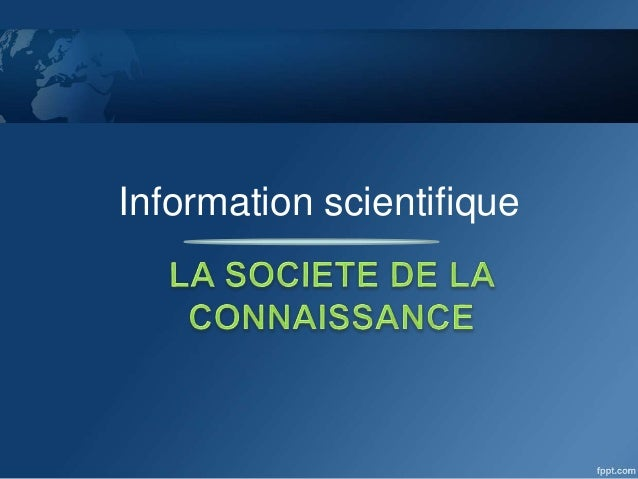 Information scientifique