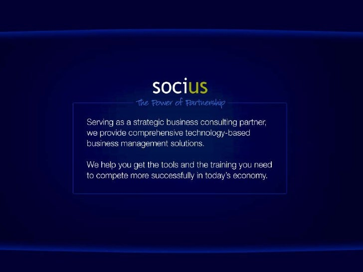 Socius Overview Slide 1