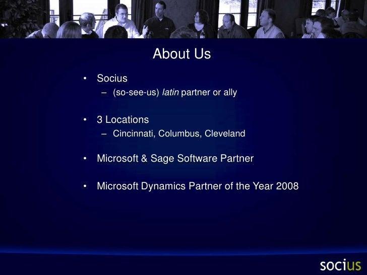 Socius Overview Slide 2